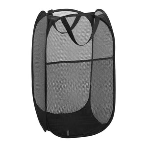 Mesh Pop Up Laundry Hamper - 58cm