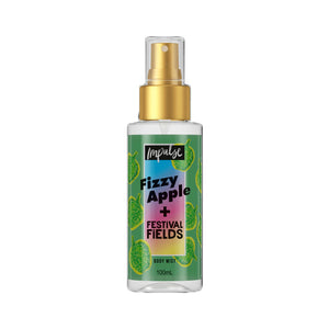 Impulse Body Mist Fizzy Apple + Festival Fields 100ml
