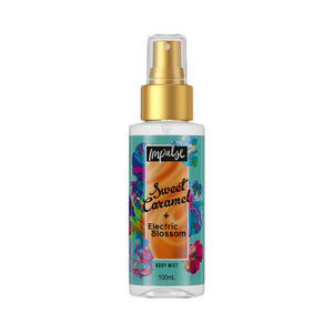 Impulse Body Mist Sweet Caramel + Electric Blossom 100ml