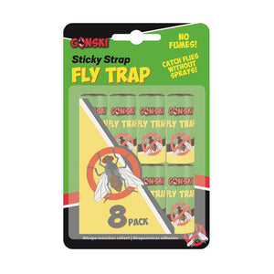 Gonski Sticky Stap Fly Trap(8pk)
