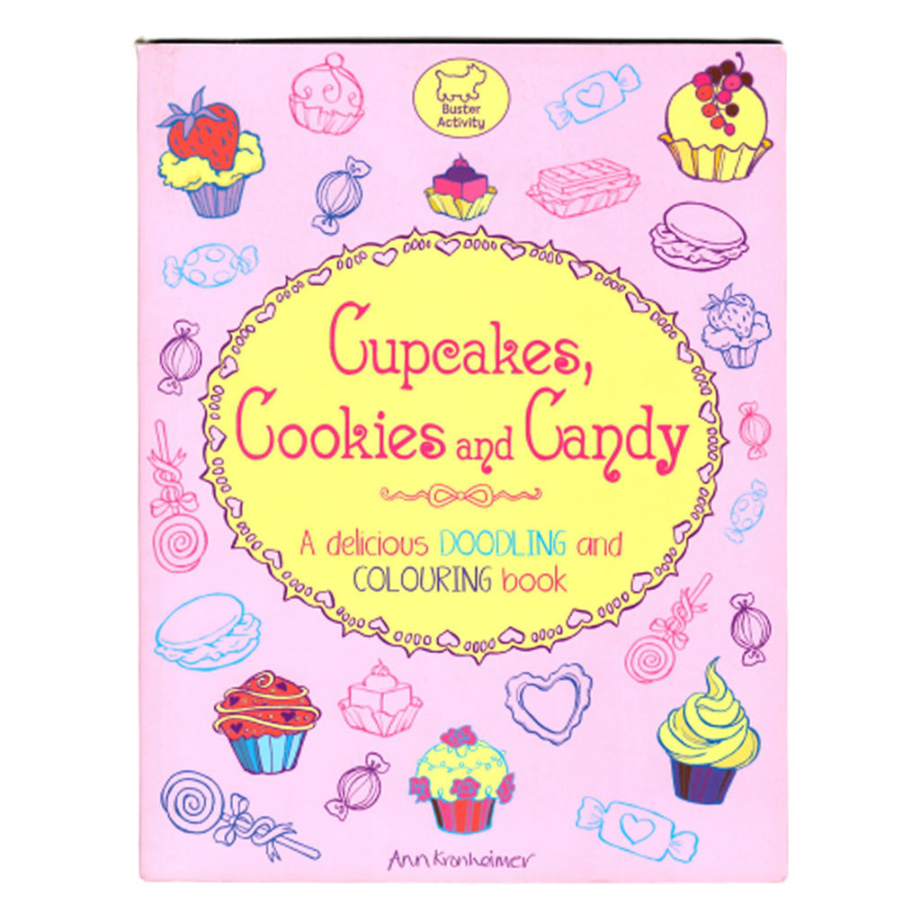Cupcakes, Cookies and Candy: A Delicious Doodling and Colouring Book