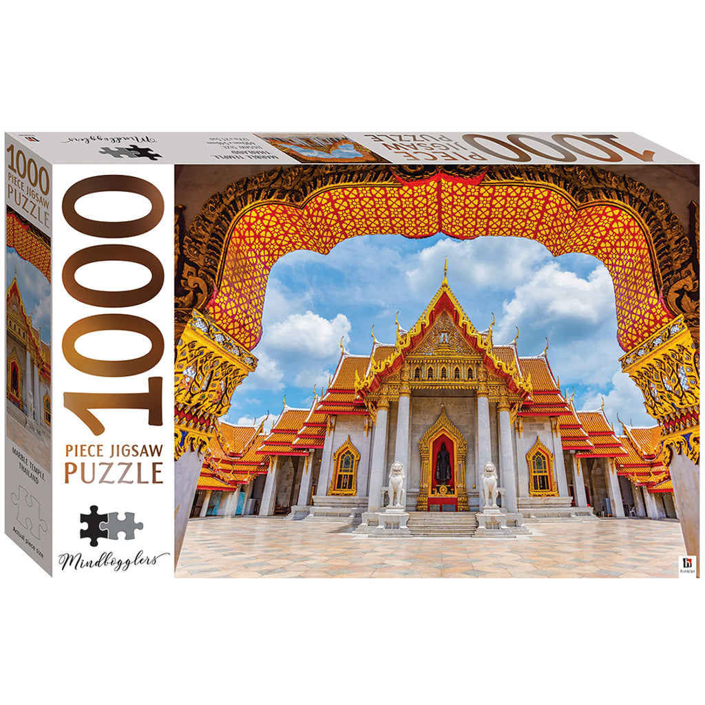 1000 PIECE JIGSAW PUZZLE - MARBLE TEMPLE, THAILAND