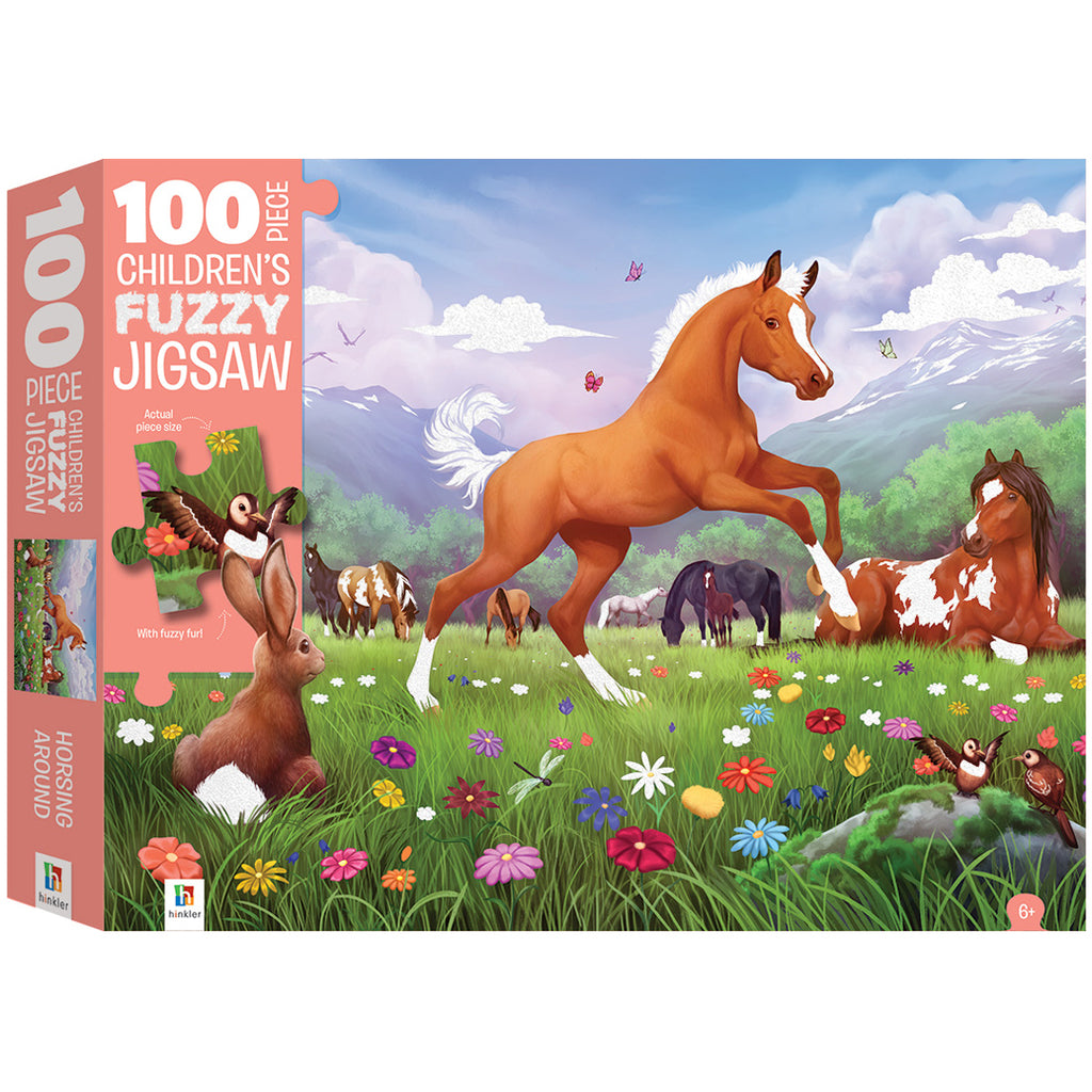 100 PIECE TEXTURED CHILDREN'S JIGSAW PUZZLE