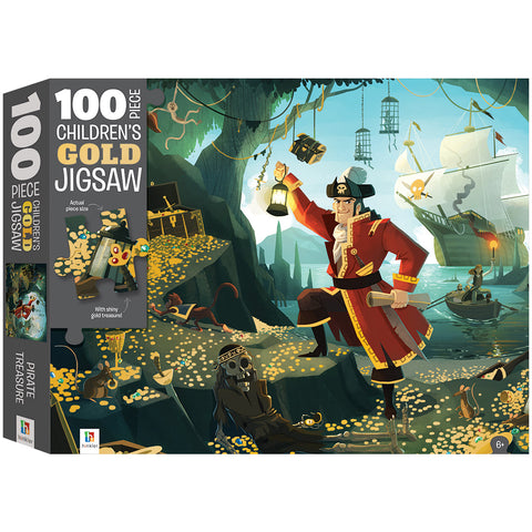 Pirates 100 PIECE TEXTURED CHILDREN'S JIGSAW PUZZLE