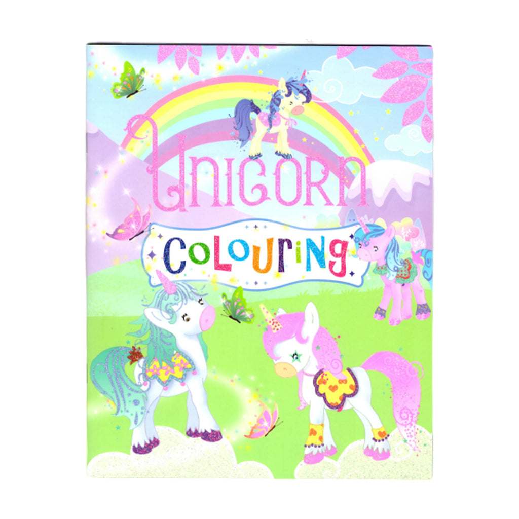 Unicorn Colouring