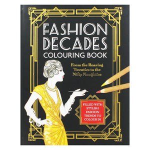 Fashion Decades Colouring Book