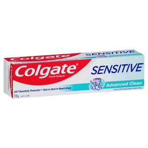 6 x Colgate Sensitive Advanced Clean Toothpaste 110g