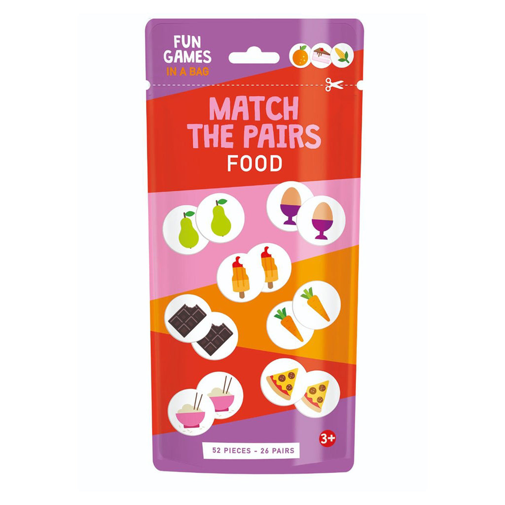 Match The Pairs: Food (Cards)