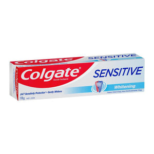 6 x Colgate Sensitive Teeth Pain Whitening Sensitive Toothpaste 110g