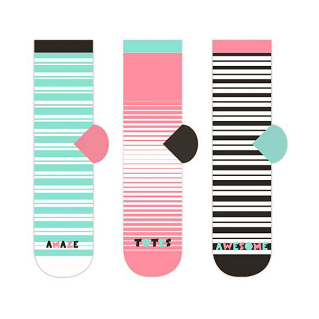 Mismatched Socks: They Sort of Match But Don't! - 3 Pack