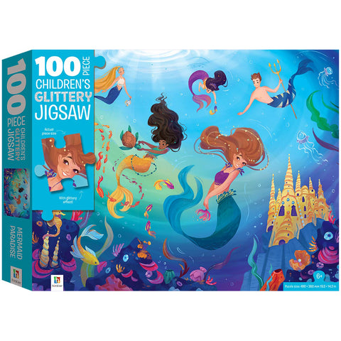 Mermaid 100 TEXTURED CHILDREN'S JIGSAW PUZZLE
