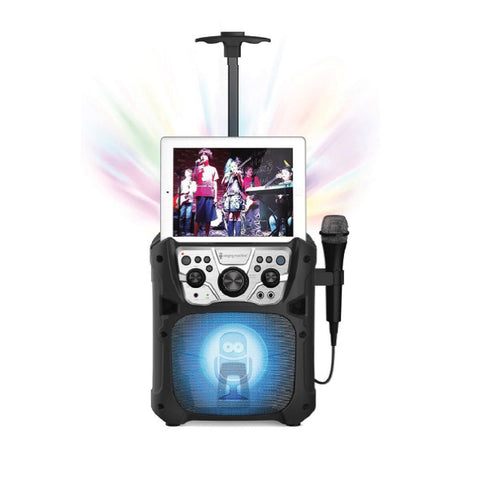 Singing Machine Mini Fiesta - Bluetooth + Light Show