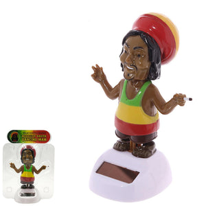 Solar Powered Dancing Rasta Man
