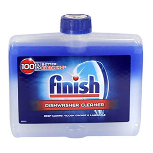 Finish Dishwasher Cleaner Liquid Original - 250ml