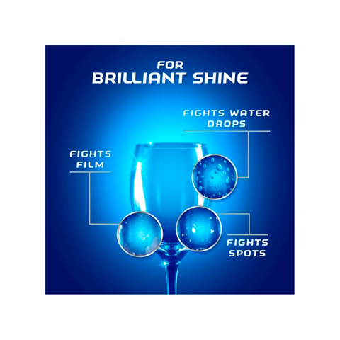 2 x 800ml Finish Shine & Protect Rinse Aid Lemon Sparkle  Smooth Sales
