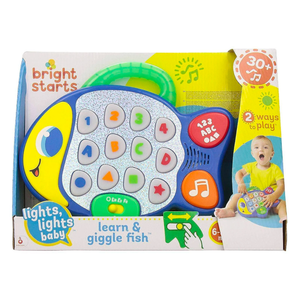 Bright Starts Learn and Giggle Fish