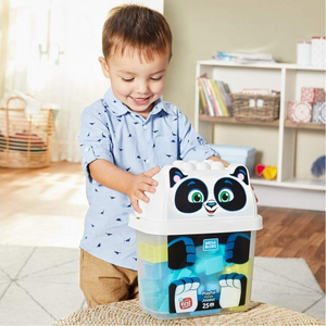 Mega Bloks Animal Bucket - Playful Panda