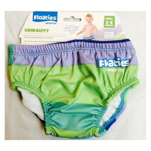 Floaties Swim Nappy - Blue/Green