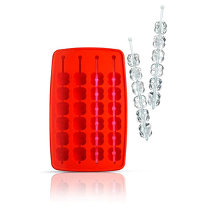 Siliconezone Flower Wand Ice Tray