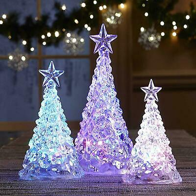 LED Colour Changing Christmas Trees