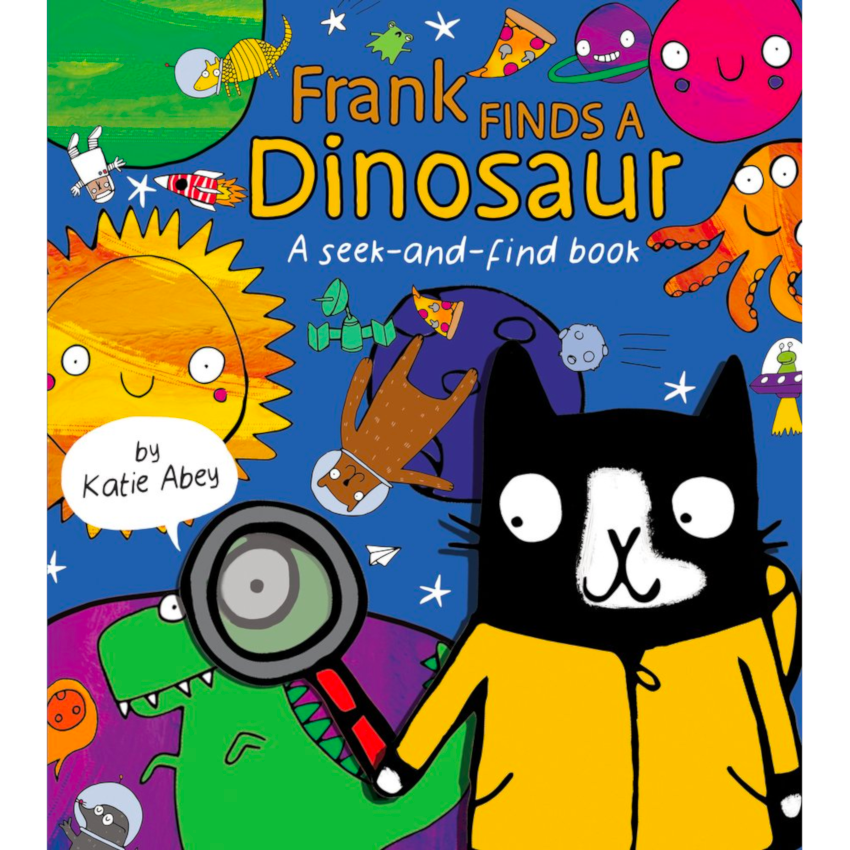 Frank Finds a Dinosaur : A Seek and Find Book