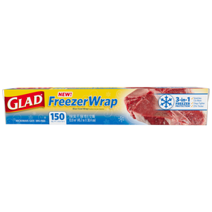 2 x Glad Freezer Wrap 20m