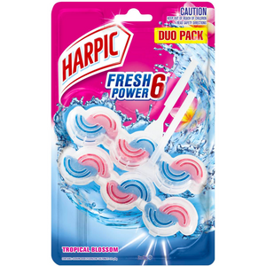 Harpic Fresh Power Tropical Blossom 2 Pack