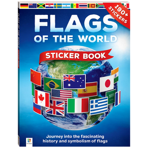Book And 150-Piece Jigsaw: Flags Of The World