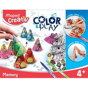 Colour & Play Creative Kit and Memory Game