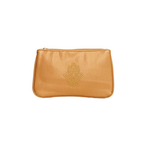 Dilly's Collections Leather 'Good Luck' Purse - Gold