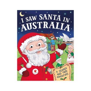 I Saw Santa in Australia Book