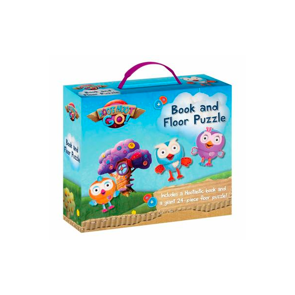 ABC Kids Hoot Hoot Go! Book and Floor Puzzle