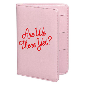 Are We There Yet Passport Holder