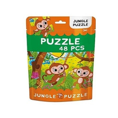 48pc Kid's Puzzle - Jungle Puzzle