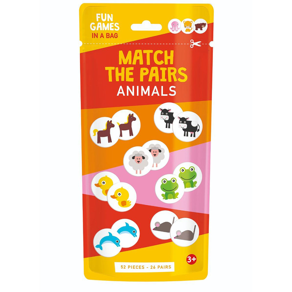 Match The Pairs: Animals(Cards)