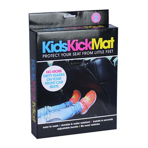 Kid's Car Seat Kick Mat
