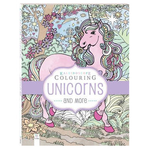 Kaleidoscope Colouring - Unicorns and More
