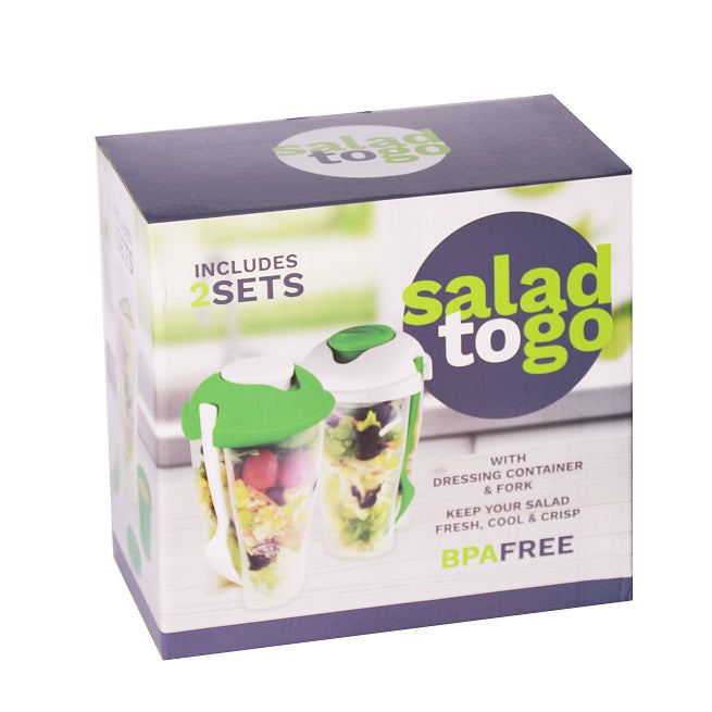 Salad To Go Lunch Box Container