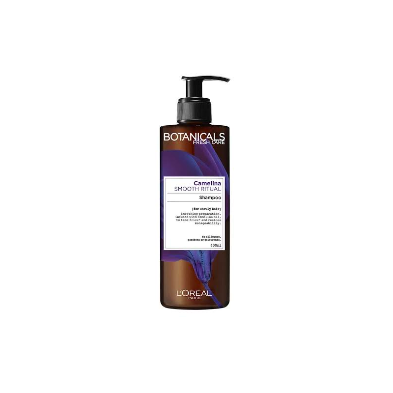 L'Oreal Paris Botanicals Camelina Smooth Ritual Shampoo 400ml