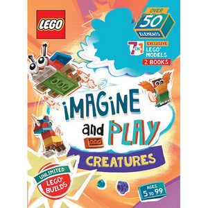 Lego Imagine And Play 7-In-1 Book + Activity Pack - Creatures