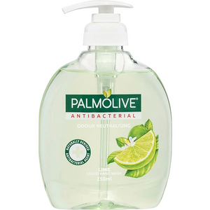 Palmolive Antibacterial Lime Liquid Hand Wash (250ml)
