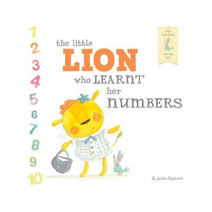 The Little Lion Who Learnt Her Numbers by Jedda Robaard
