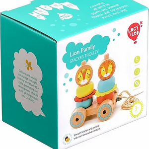 Lucy & Leo Lion Family Stacker Trolley
