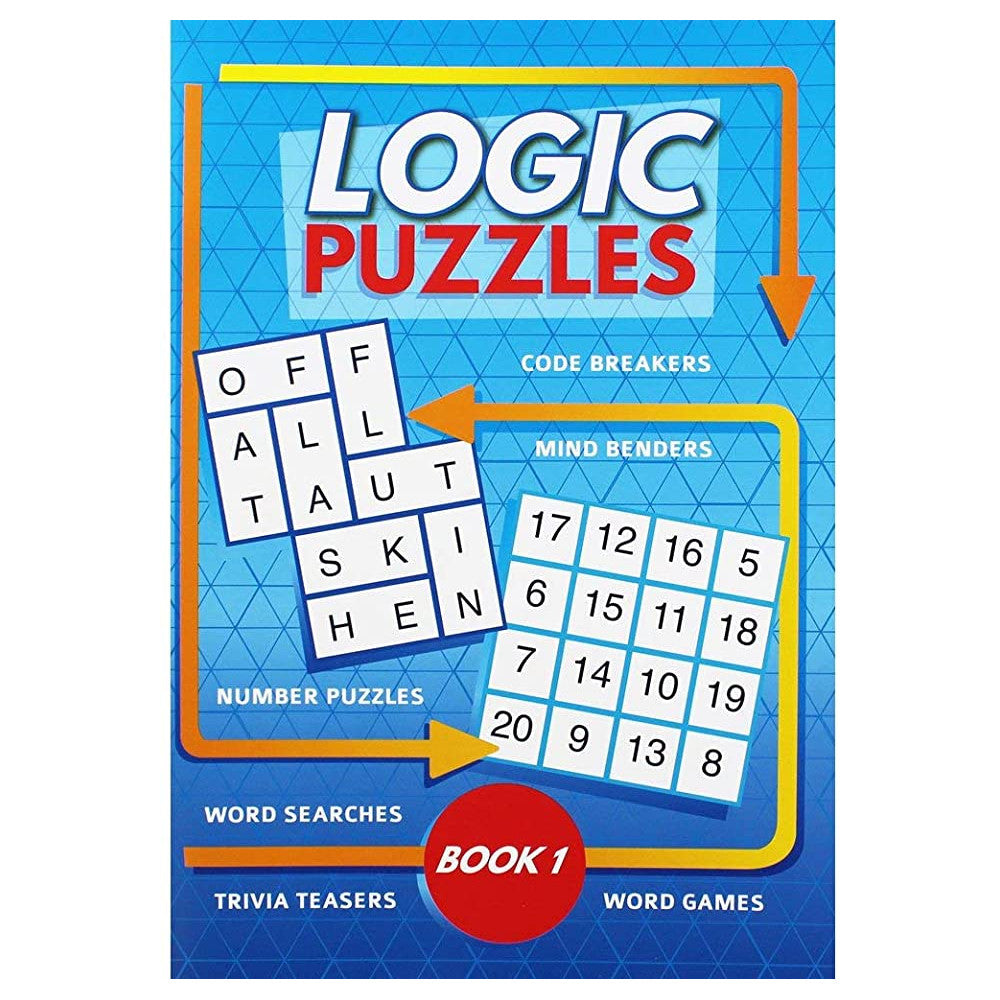 Logic Puzzles Book 1 by i-Read