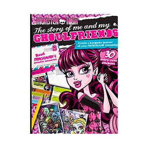 Monster High The Story Of Me And My Ghoulfriends Book