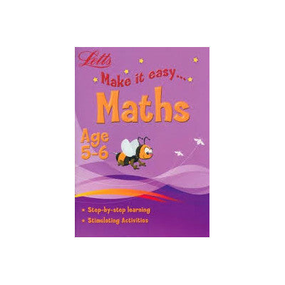 Letts Make It Easy Maths - Educational Books