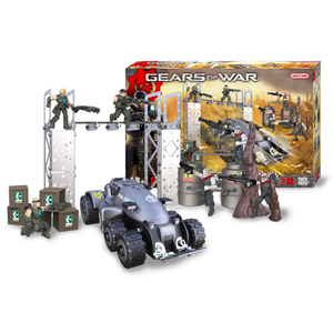 Meccano Gears of War Locust VS Delta Squad Battle Construction Set