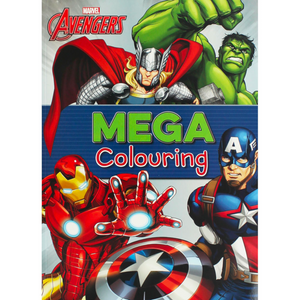Marvel Avengers Mega Colouring Book
