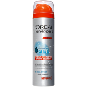 L'Oreal Paris Men Expert Hydra Energetic Shaving Gel 200ml