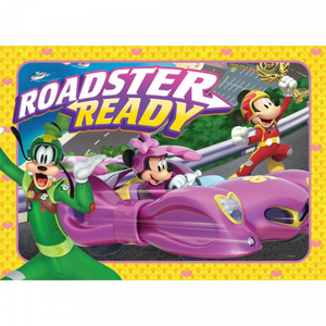 Mickey and the Roadster Racers: 35 Piece Frame Tray Puzzle
